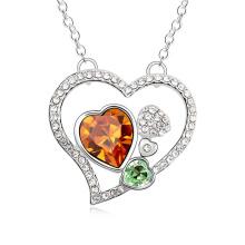Платиновое никелированное ожерелье последней модели