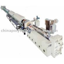 Linha de extrusão de tubo de fornecimento de gás / água PEAD / MDPE