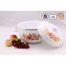 Эмалированная посуда Кастрюля прозрачное стекло кастрюли
