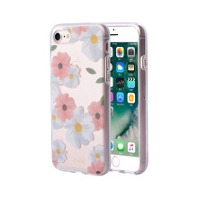 TPU e PC Hybrid IMD Flower Series Case para iPhone 6s