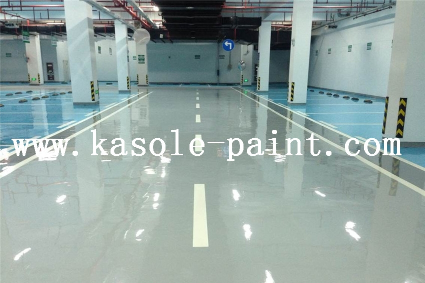 Transparent Epoxy Varnish Floor Material