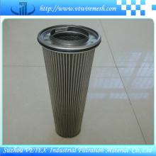 Elementos de filtro de aço inoxidável resistentes à corrosão