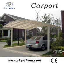 Polycarbonate and aluminum carport the fabric carports/car garage