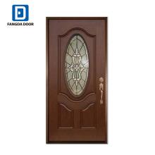 Фанда СМЦ кожи окрашенные стеклопластиковые двери махагон