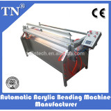 automatic acrylic folding machine at different angle