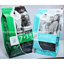 Heat-Seal Laminated Bag Plastic Pet Food Bag Packing