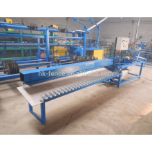 semi-auto 2 m width chain link fence machine exporter
