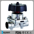 Sanitary Diaphragm Valve Weld Ends Manual Type