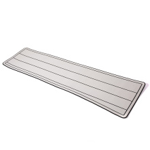 2021 new design cheap price yacht grey  stripe custom anti dew seco-friendly heet boat  flooring carpet EVA boat floor mat