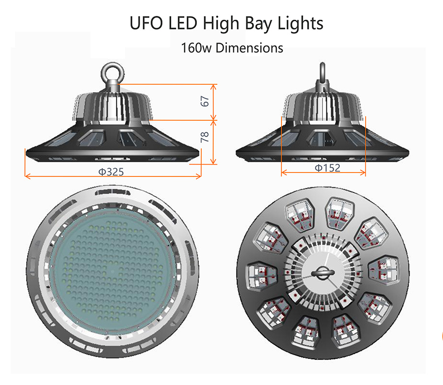 UFO High Bay Lighting