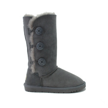Big discounting for Womens Leather Winter Boots Wholesale women sheepskin winter snow boots supply to Anguilla Exporter