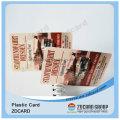 Cartão de impressão a jacto de tinta para cartão de identificação de empregado