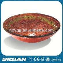 Párais de vaso de vidro de mesa colorida