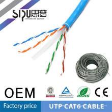 SIPU alta qualidade utp cat 6e rede cabo extensor