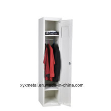 Kd Easy Assembled Steel Storage One Door Wardrobe/ Locker Cabinet