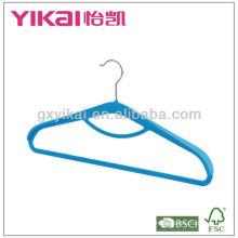 Флок-вешалка с брюками и стойкой для галстуков