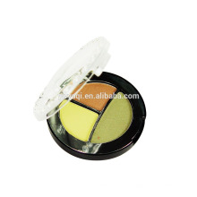 Private Label Mineral maquiagem fabricantes 3 cores Eyeshadow