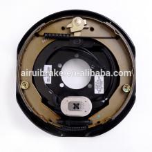 Frein à tambour -12 pouces frein électrique avec levier de stationnement pour remorque