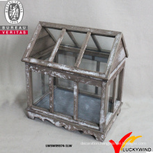 French Coutry Style Shabby Chic Small Wooden Greenhouse