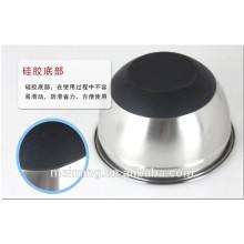 Espejo, tazón de fuente / ensaladera / tazón de fuente de acero inoxidable polaco http://meiming.en.alibaba.com/