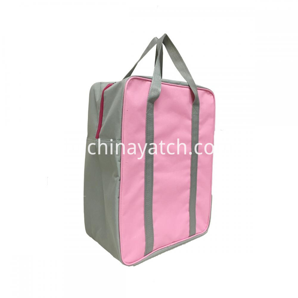 Pink Oxford Cooler Bag