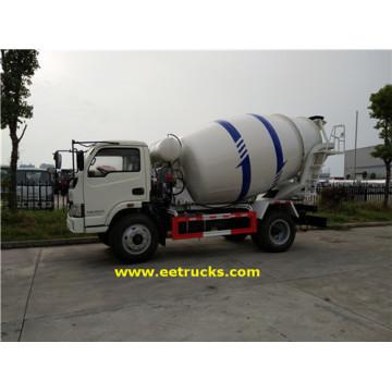 500 Gallon 4.5T Camion Transporteur De Béton