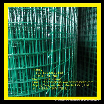 YW-- pvc welded wire mesh/galvanized welded wire mesh /Skype: randy.liang1