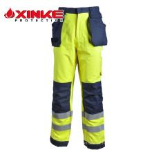 Pantalones ignífugos avanzados para las necesidades de la fábrica