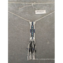Ожерелье этнические ткань с кисточкой