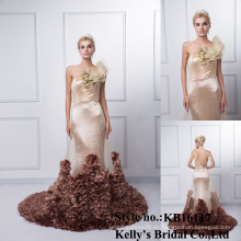 Großhandelsneue Entwurfsdamen wulst moderne reizvolle sleeveless Spitzeentwurfsabbildungen späteste formale Kleidmuster