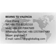Mainland Beijing to Spain Valencia