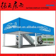 Stand de construtores de estandes cabine padrão modular sistema de exibição de exposições