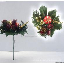Пластиковые декоративные 3D Рождественские украшения Рождество берет