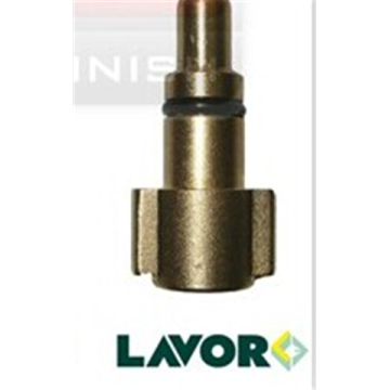 Messing Lavor G 1 / 4F Adapter mit ORing 8,5 mm