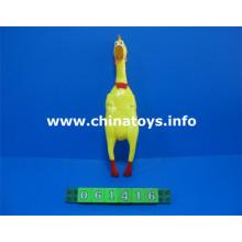Gritando de frango novo design suave animal brinquedos (061416)