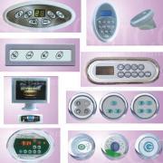 Controlador de banheira de massagem, sistema de controle eletrônico