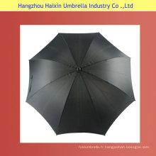 Parapluie de Golf auto en fibre de verre ouvert