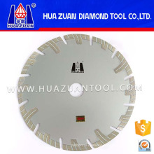 Diamond Blades with Protective Teeth for Granite Marble