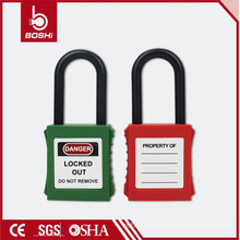 Master Brady Safety Lockout ,ABS Safety Padlock BD-G14 with Insulation Shackle Keyed Alike