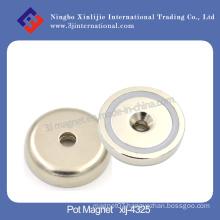 The Super N40 Neodymium Pot Magnet