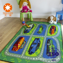 Imprimé de dessin animé Kid Eco Friendly Tapis de sol