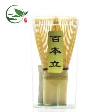 Bambu Whisk Chasen e Matcha Conjunto de Colher Mental de Medição