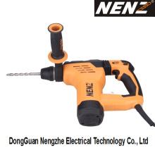 Martelo giratório da combinação elétrica da ferramenta com embreagem segura (NZ30)