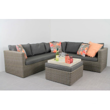 Resin Wicker Garden Outdoor Patio Furniture Rattan Sectional Sofa Set