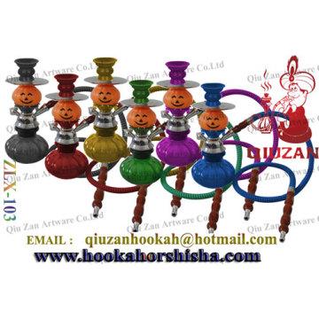 Beautiful Mini Shisha Hookah With Pumpkin Shape Vase