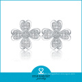 2014 China Handmade Luxury Flower Earrings (SH-E0009)