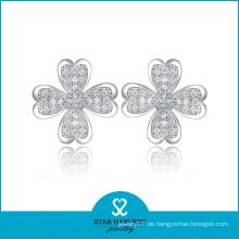 2014 China handgemachte Luxuxblumen-Ohrringe (SH-E0009)
