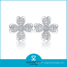 2014 China Handmade Luxury Flower Earrings (SH-E0009)