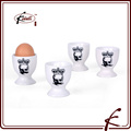 High Quality Customized Durable Porcelain Egg Cup