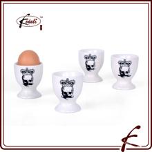 Alta qualidade personalizada durável porcelana ovo copo